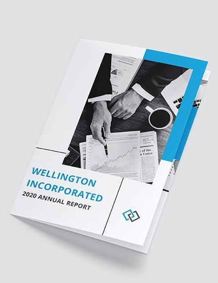 Annual Report BiFold Brochure Download