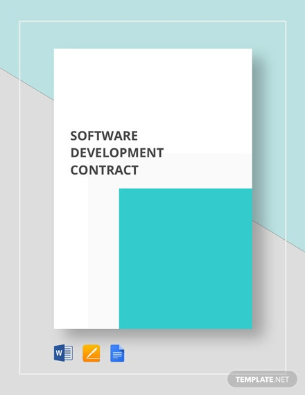 Software Development Contract