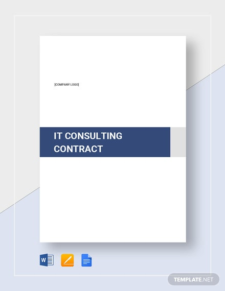 IT Consulting Contract Template