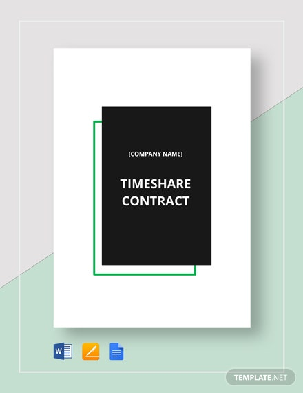 Timeshare Contract