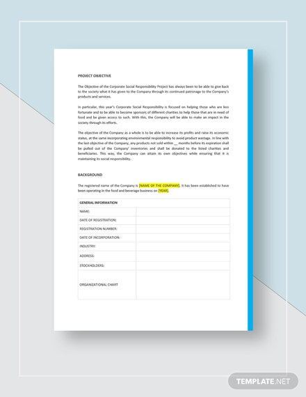 Executive Summary Report Download