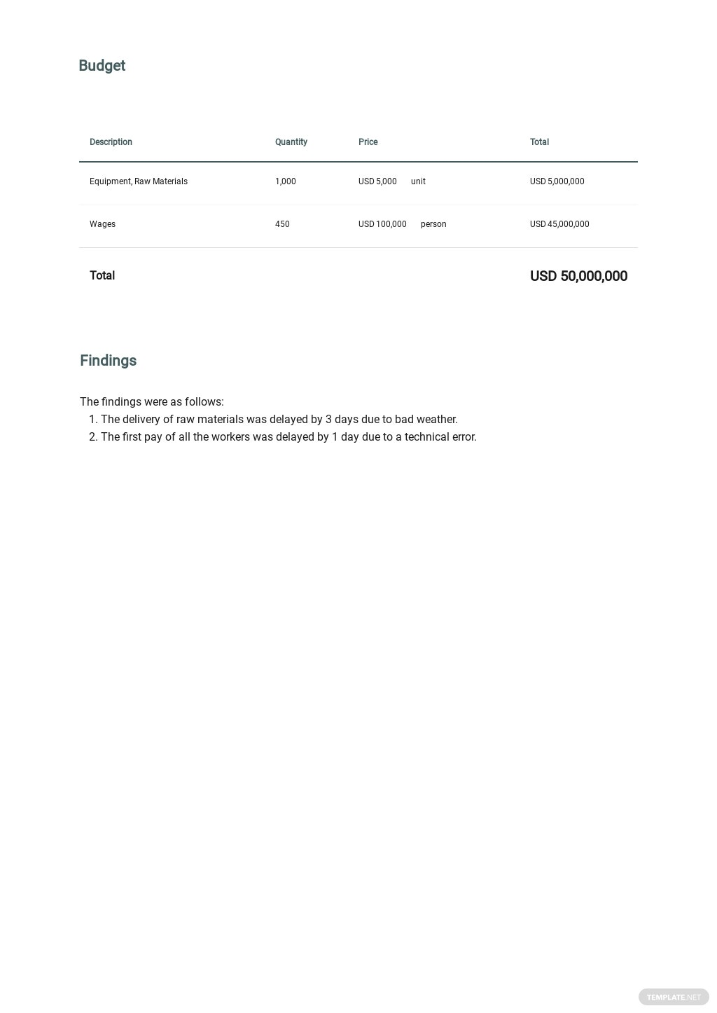 Project Report Template for Investors 3.jpe