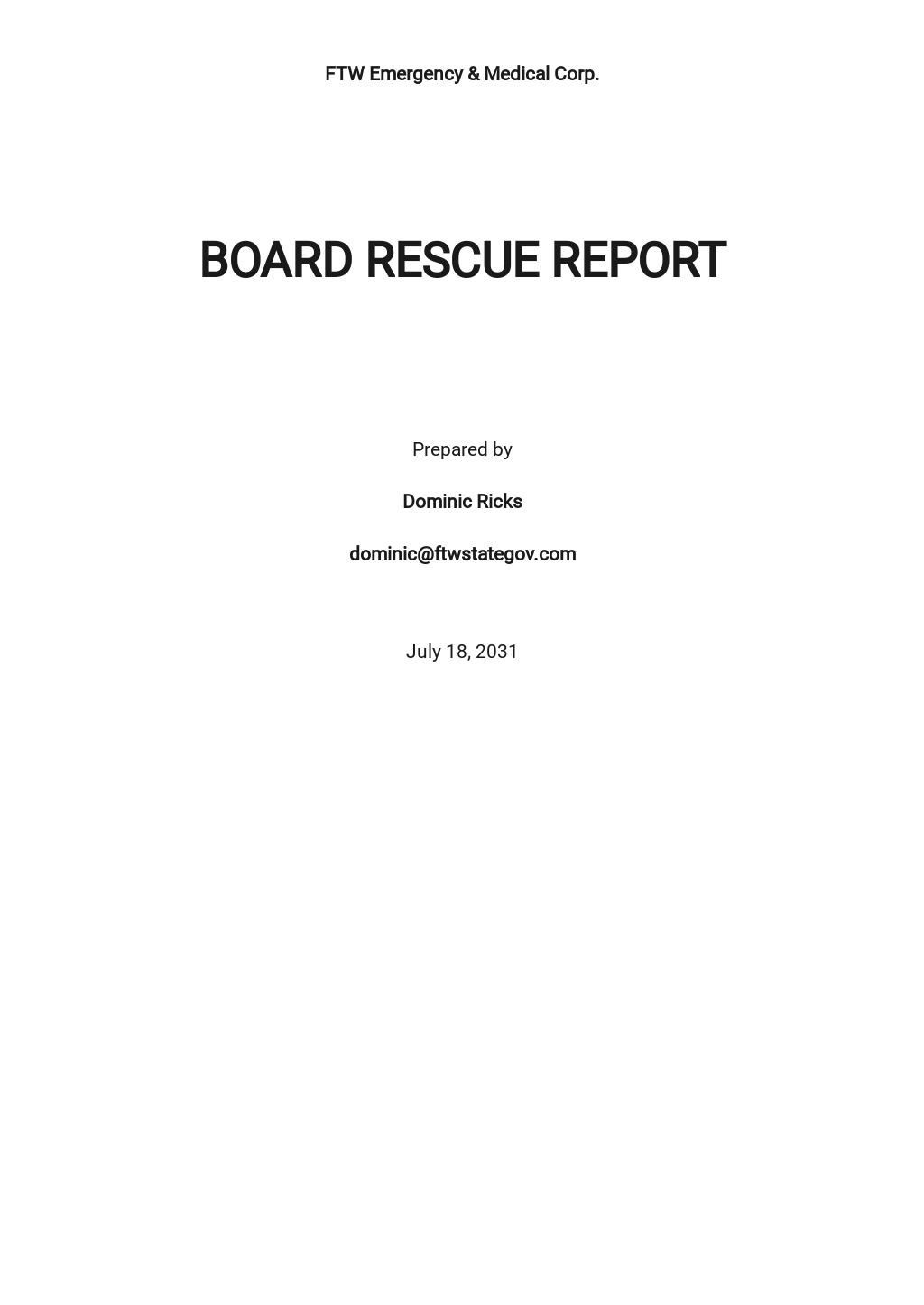 Board Rescue Report Template.jpe