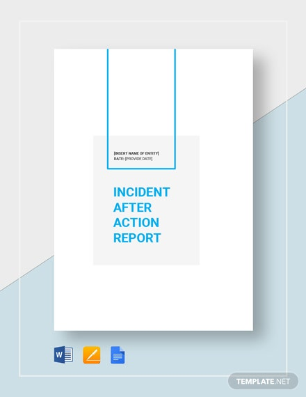 incident after action report