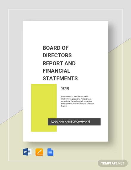 board of directors report 4