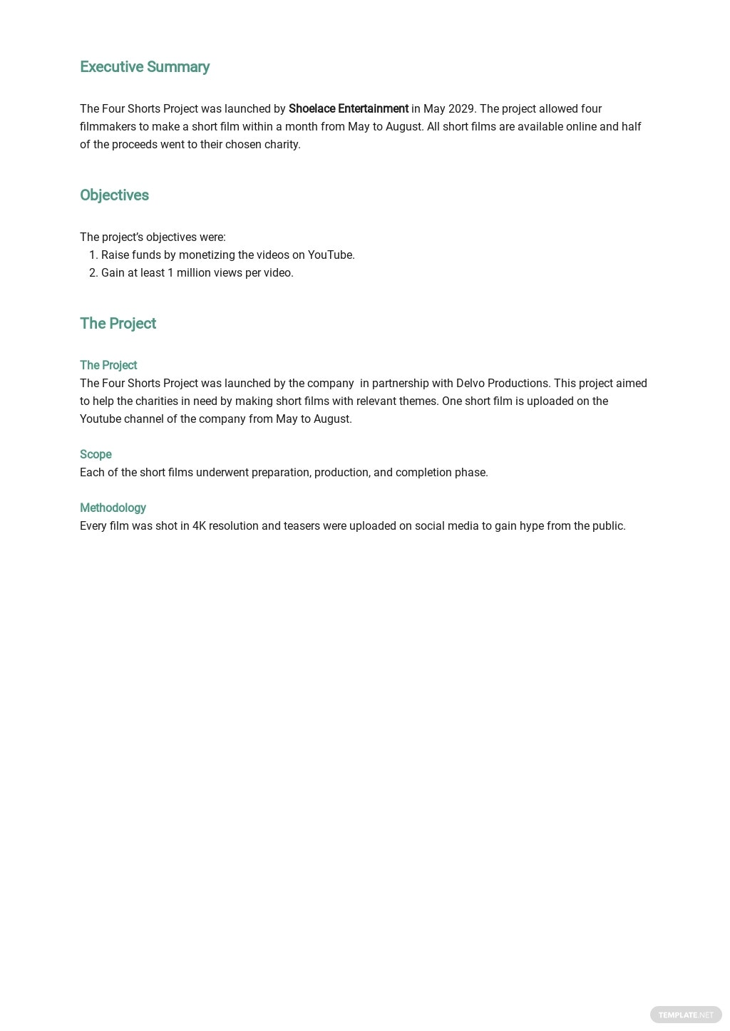 Monthly Project Report Template 1.jpe
