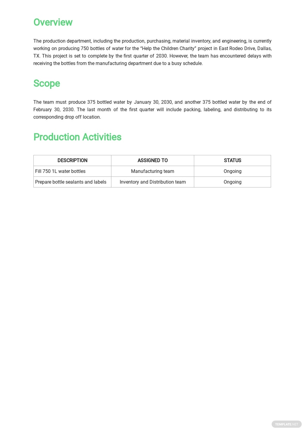 Quarterly Production Report Template 1.jpe
