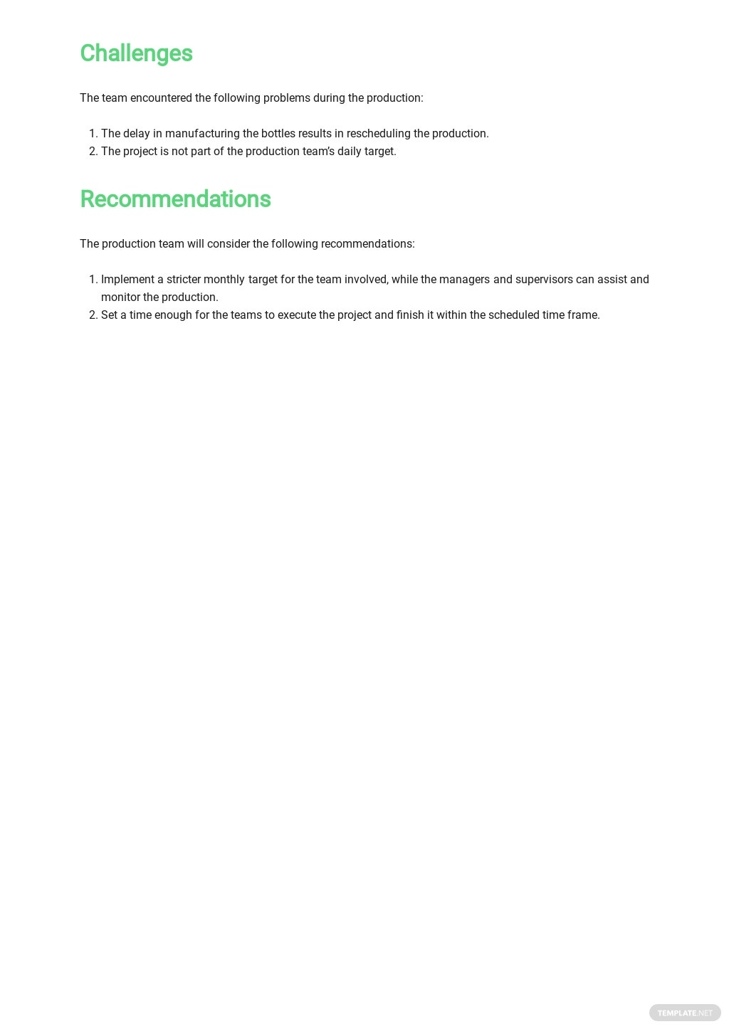 Quarterly Production Report Template 2.jpe