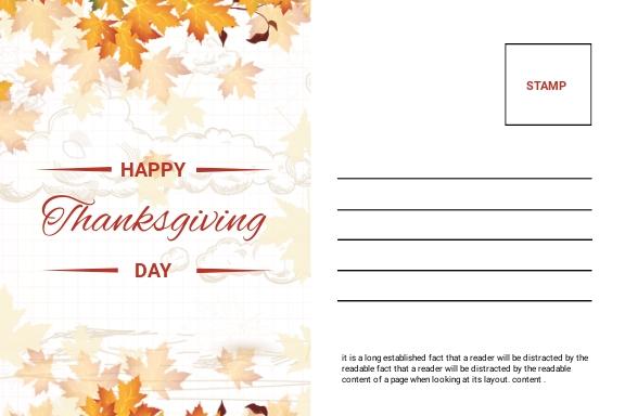 Printable Thanksgiving Postcard 1.jpe