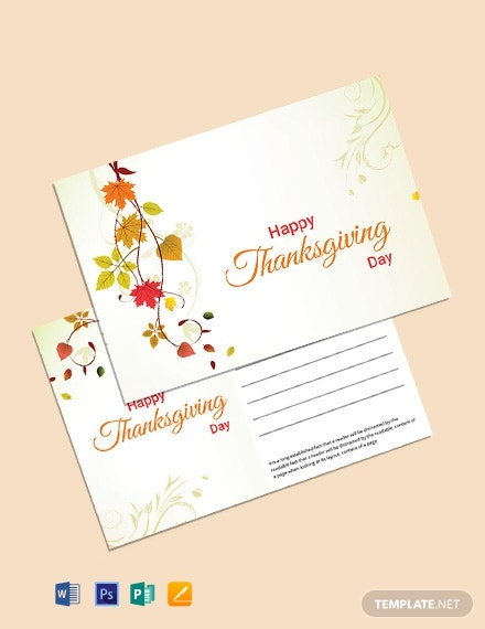 Postcard for Thanksgiving