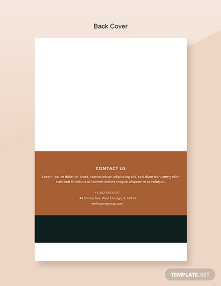 Free Architecture Catalog Template Editable