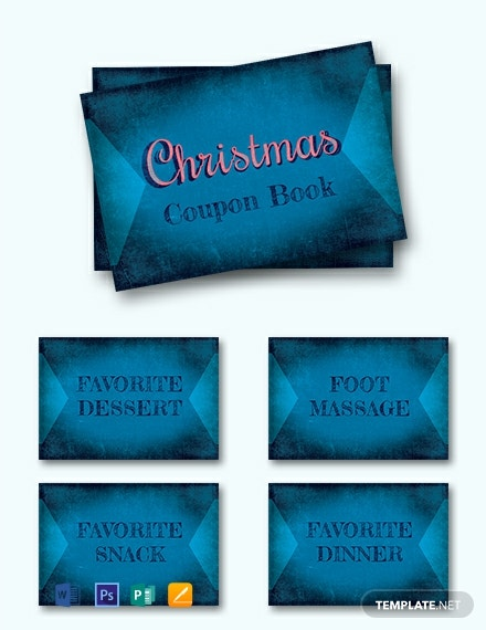 Free Christmas Coupon Book Template