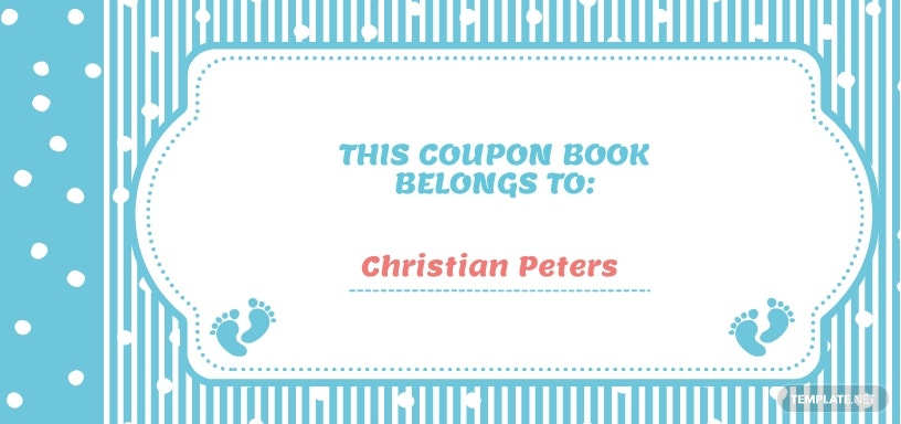 Coupon Book Template for Kids