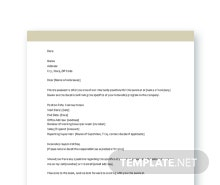 Free Internship Appointment Letter template