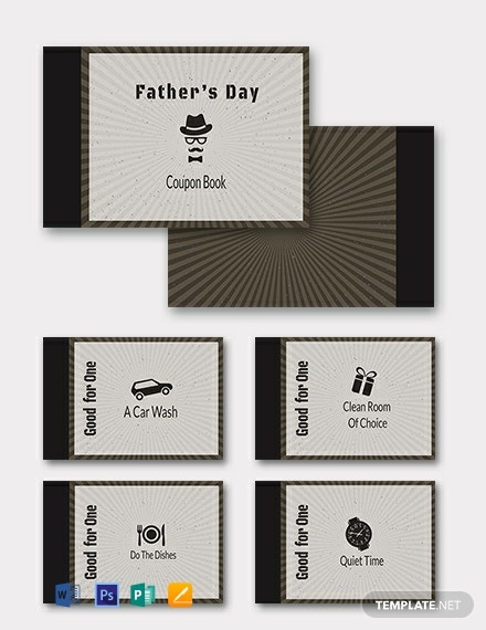 Free Coupon Book for Father's Day