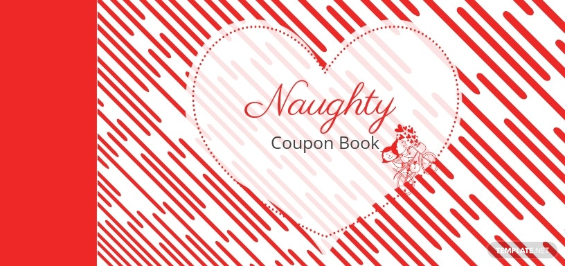Heart Coupon Book Template