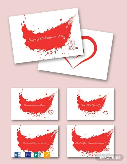 Valentine S Day Coupon Book
