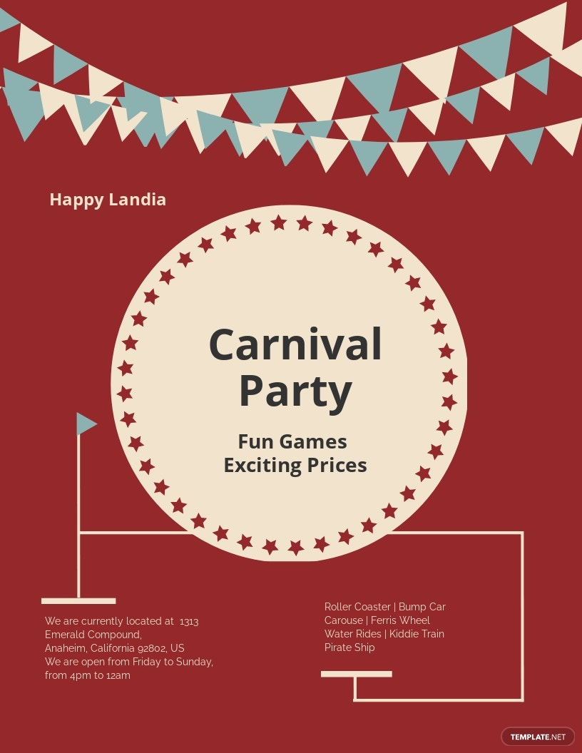 Carnival Flyer Template
