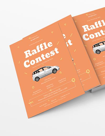 Raffle Flyer Download