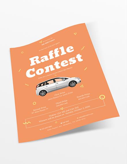 Sample Raffle Flyer