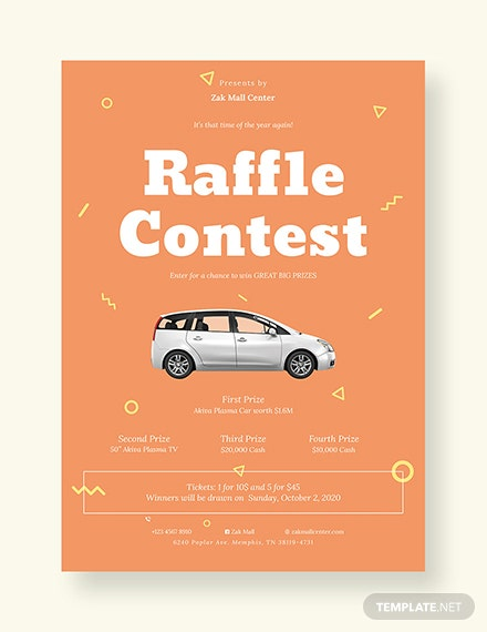 raffle ticket template in adobe photoshop illustrator indesign