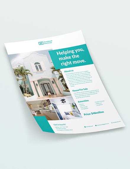 Real Estate Marketing Flyer Download