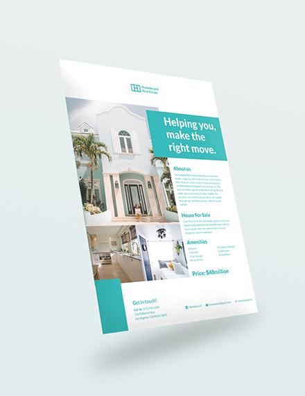 Sample Real Estate Marketing Flyer