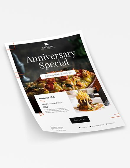Restaurant Flyer Download