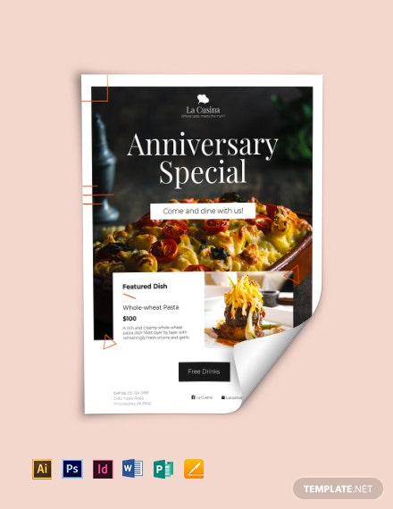restaurant fundraising flyer template download 78 flyers in