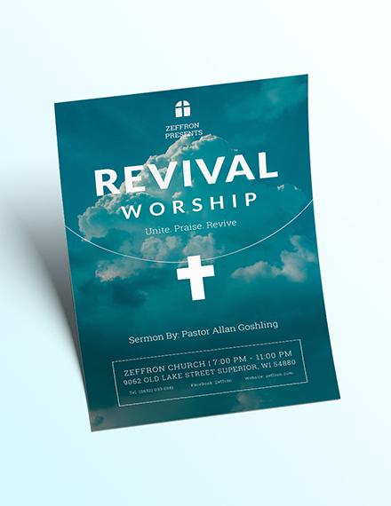 Revival Flyer Download