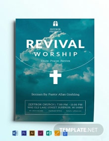 Revival Flyer Template
