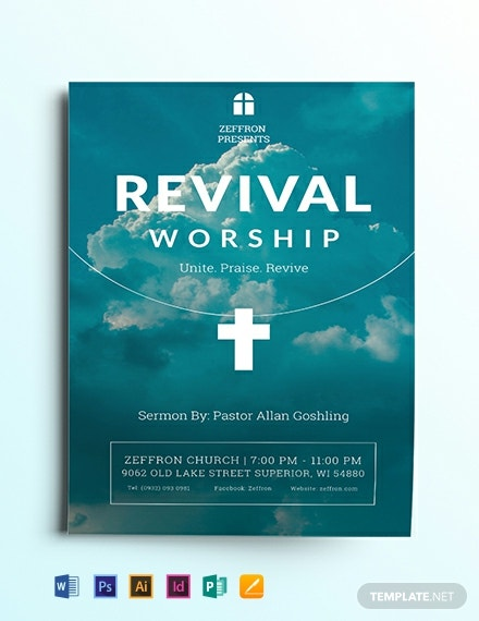 revival flyer template 440x570 1