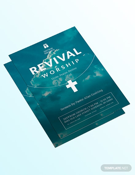Sample Revival Flyer
