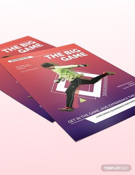 Sports Event Flyer Download