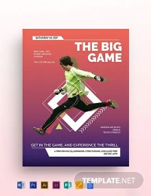 Sports Event Flyer Template