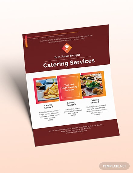 Catering Flyer Download
