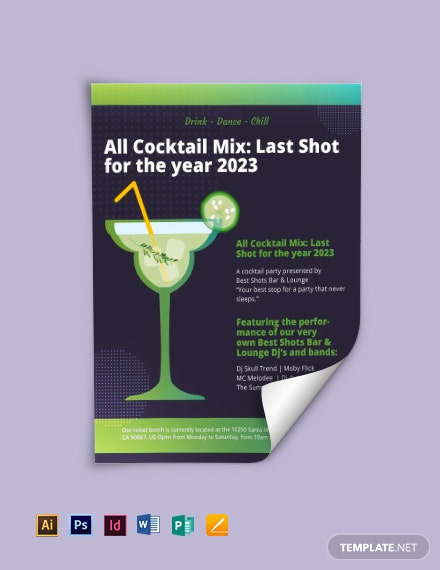 sample cocktail party flyer 1