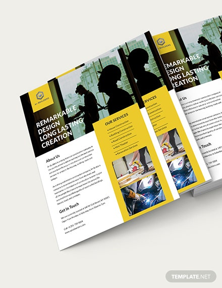 Construction Flyer Download