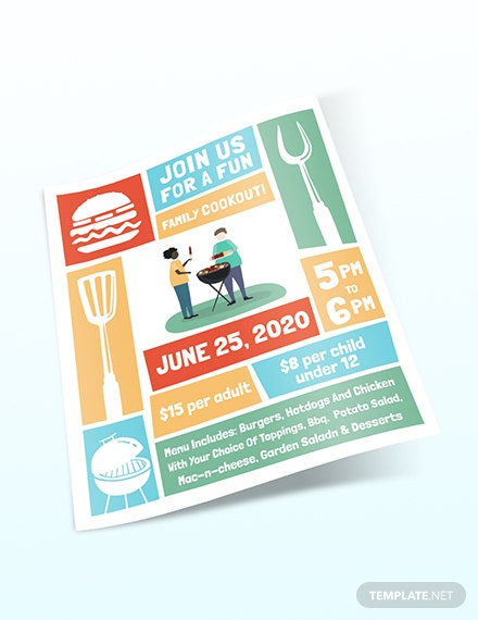 Cookout Flyer Download