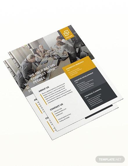 Sample Corporate Flyer