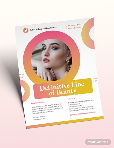 Cosmetic Flyer Download