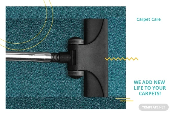 Free Carpet Cleaning Postcard Template