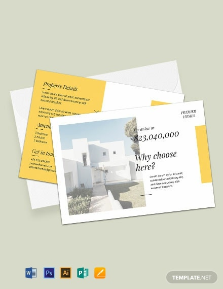 Free Real Estate Postcard Template