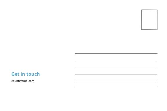 Free Simple Business Postcard Template 1.jpe