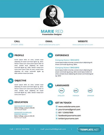 free fashion designer resume and cv template  download 200