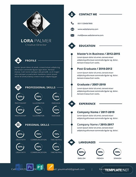 Download Template resume word