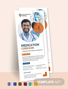 Medical Professional Rack Card Template
