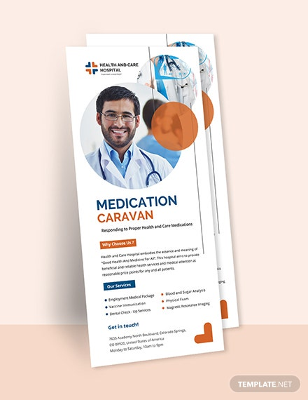 Free Medical Professional Rack Card Template