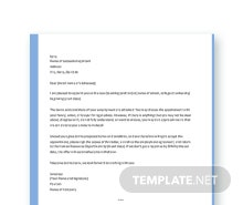 Free Teacher Appointment Letter Template