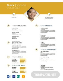 Free Creative Graphic Designer Resume